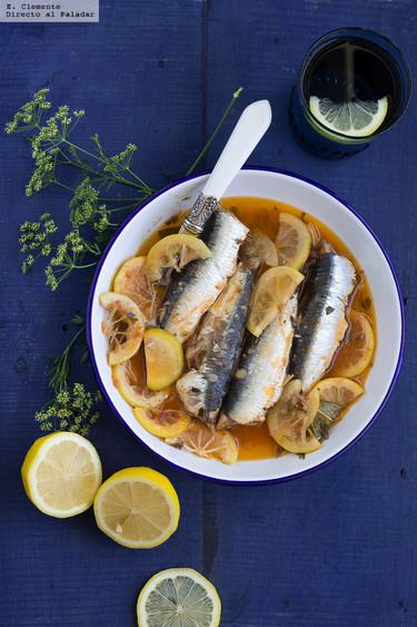Escabeche de sardinas: receta fácil de picoteo