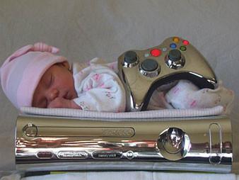 El primer bebé Xbox