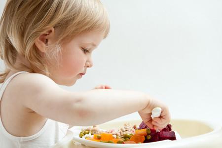 Comiendo Verduras