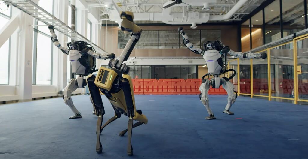 Los robots de Boston Dynamics ahora saben bailar, y lo hace mejor que muchos de nosotros