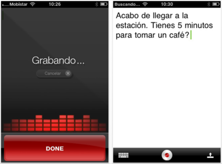 Dragon Dictation llega a la App Store