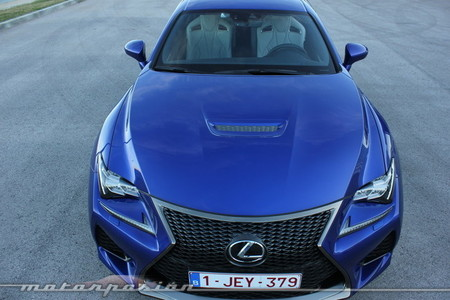 Lexus RC F, toma de contacto