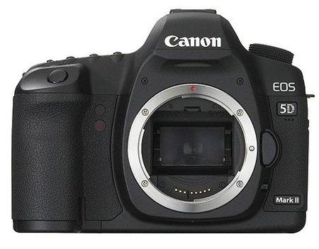 Nueva actualización de firmware para Canon 5D Mark II