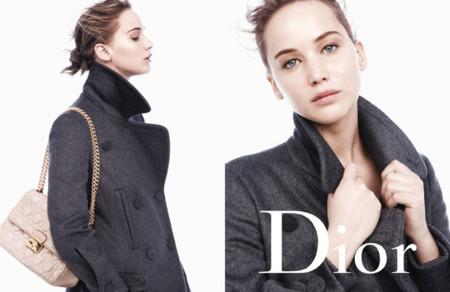 Hambre de Jennifer Lawrence. Saciémosla con la campaña Fall 2013 de Miss Dior