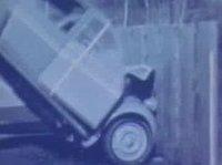 Crash test de un Citröen 2CV