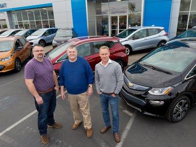 Entregadas las primeras unidades del Chevrolet Bolt en Fremont (California)