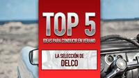 Top 5 ideas para conducir en verano, la selección de Delco