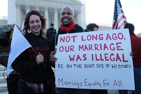 Del matrimonio interracial al homosexual: si lo legalizas deja de ser un problema
