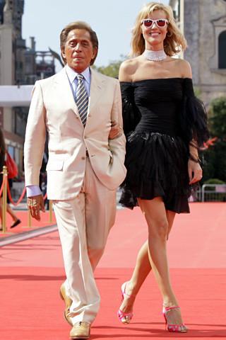 Valentino en el Festival de Venecia