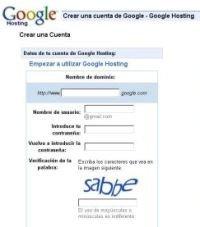 Estafa a los usuarios de GMail sobre Google Hosting