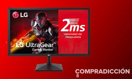 Ahorra 40 euros estrenando un completo monitor como el LG 27MK400H-B: Amazon te lo deja ahora por 129 euros