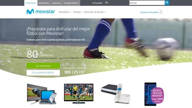 Web Movistar