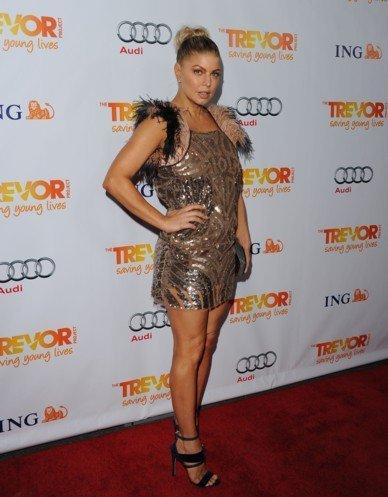 Fergie en Trevor Project