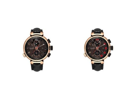 Tambour Spin Time Regata en oro rosa, el nuevo reloj de Louis Vuitton