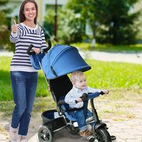 En la Super Week de eBay tenemos este triciclo 3 en 1 Homcom por 85,99 euros y envío gratis