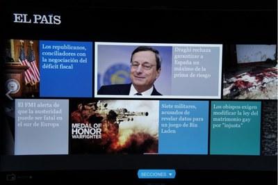 EL PAIS tiene una aplicación para leer el periódico en tu Smart TV