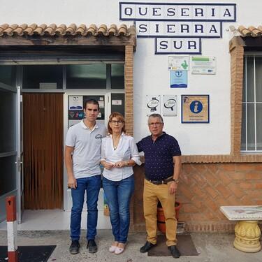 La quesería de Jaén, montada de la nada, que se ha coronado en los 'Oscar del Queso'