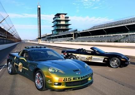 Dos nuevos Corvette Pace Cars para las 500 Millas de Indianápolis
