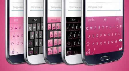 SwiftKey apuesta por el rosa en sus temas para personalizar el teclado