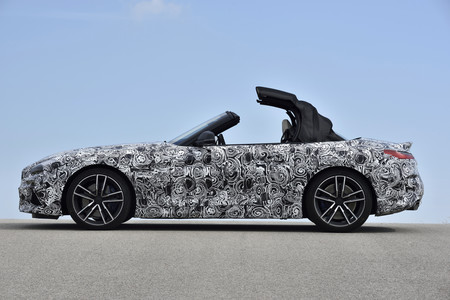 Bmw Z4 2019 Fotos Espia 19