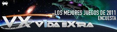 Los mejores juegos de 2011 según los lectores de VidaExtra. Encuesta (actualizado)