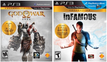 Sony anuncia 'inFAMOUS Collection' y 'God of War Saga' para Estados Unidos. Esperemos que llegue aquí