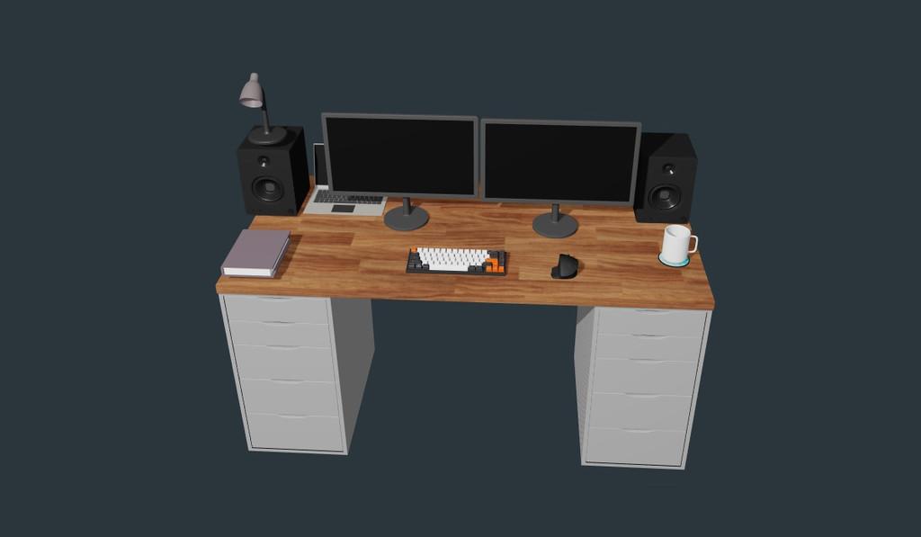 Esta web te ayuda a diseñar tu propia Battlestation en 3D, por si estás pensando en cambiar tu setup
