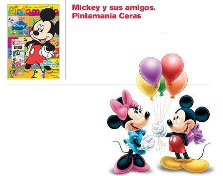Nuevos libros para colorear de Mickey