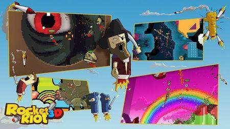 Estos son los próximos DLCs de 'Rocket Riot 3D' en Windows 8