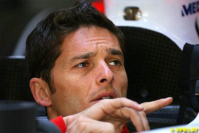 Fisichella penalizado con tres posiciones en parrilla