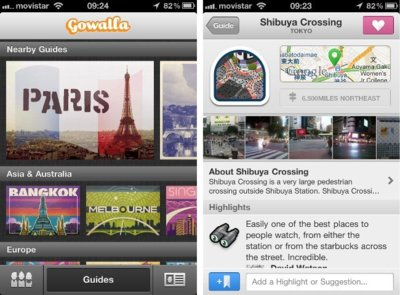 Gowalla 4 cambia radicalmente para simplificarse y especializarse en viajes