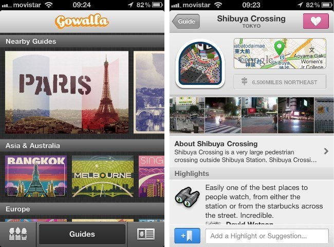 gowalla 4 iphone