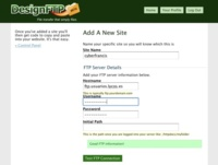 DesignFTP, recibe archivos desde tu web a tu servidor FTP