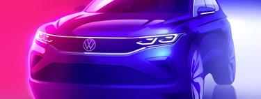 El facelift para el Volkswagen Tiguan 2021 se asoma en este primer teaser