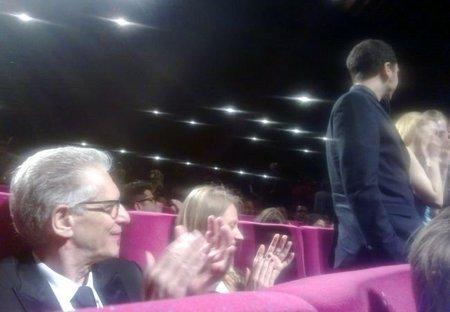 Cronenberg aplaude tras la proyección de Antiviral