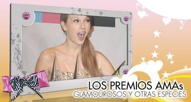 American Music Awards 2011: Glamourosos y otras especies