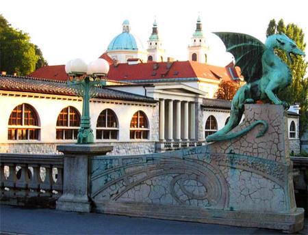 La primera ruta aérea entre Madrid y Eslovenia