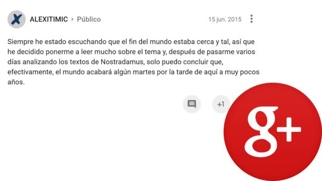 Anuncio En Google Plus