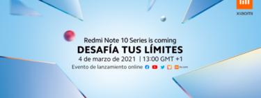 Xiaomi presentará la serie Redmi Note 10 el 4 de marzo