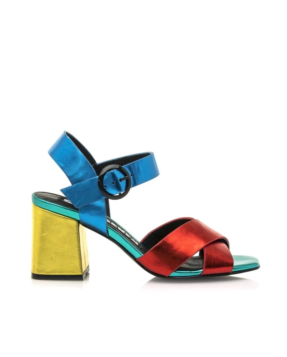 Sandalias en color-block de Sixtyseven