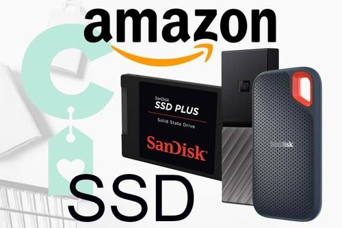 Discos duros SSD SanDisk y WD rebajados en Amazon por la Semana Gaming