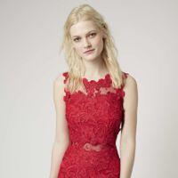 Vestido Rojo Topshop