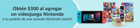 Consola Nintendo Switch de oferta en Amazon México