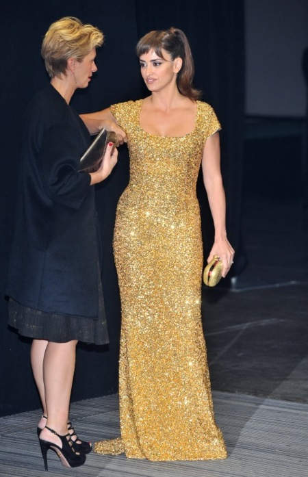 Penelope Cruz Royal World Premiere of Skyfall