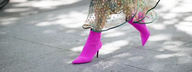 El street style nos demuestra que el calzado neón seguirá reinando esta nueva temporada