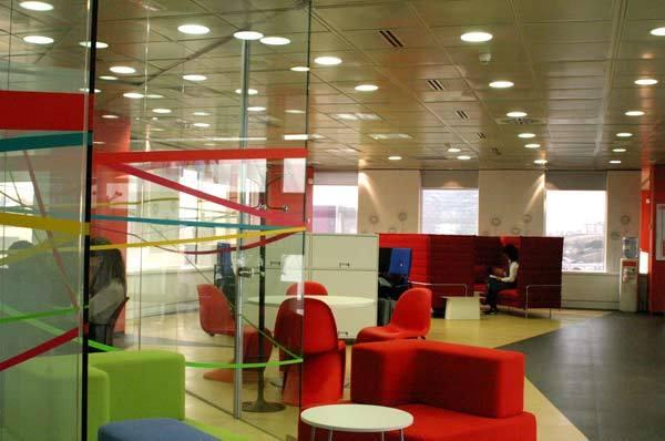 Foto de Lugares para trabajar: Las oficinas de Vodafone en Madrid (6/7)
