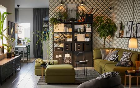 Cómo ordenar los cables y dispositivos en el salón con estas ideas de Ikea