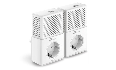Oferta flash: Kit PLC TP-Link AV1000 TL-PA7010P KIT por sólo 47,95 euros hasta esta tarde, en Amazon