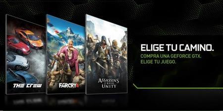 """NVIDIA inicia promoción """"Pick Your Path"""" con los últimos títulos de Ubisoft"""