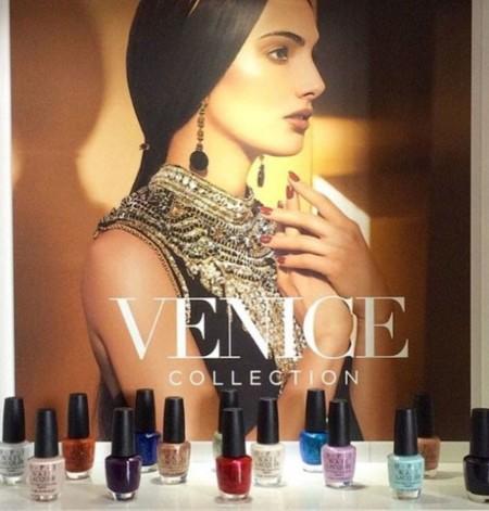 Venecia, la nueva ciudad en conquistar a OPI para su colección Otoño 2015